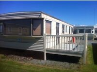 PRIVATE SALE CARAVAN FOR SALE , NORTH WEST , OCEAN EDGE HOLIDAY PARK,SEA VIEWS,PATH WAY TO THE LAKES