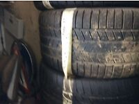 315/35/20 Pirelli RUNFLAT Winter tyres good tread