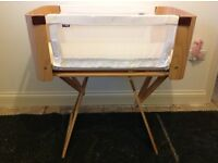 Bednest bedside crib, fully modified with safety kit - comes with new user guide