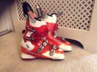 Men's Ski Boots and Skies