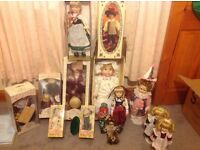 Fantastic collection of China dolls