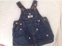 Baby Girls OshKosh Denim Dress