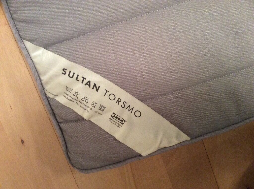 Topping Matras Ikea : Double bed topper ikea sultan torsmo belmont area in county