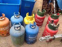 Hattons gas bottles
