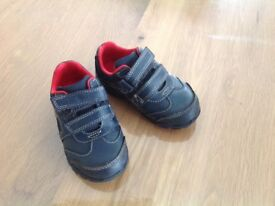 Clarks baby boy first shoes size 5G