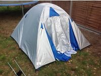 TENT 3 MAN. GOOD USED CONDITION