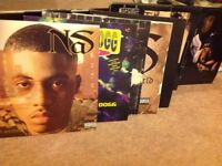 Various hiphop records from 90's