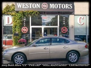 2005 Buick Allure *CX* *PWR GRP* *WELL MAINTAINED* *CERT & ETEST
