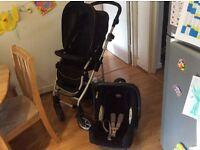 £40 Britax Pram&car seat,smoke&pet free home-collection only