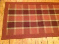ANTA Dunvegan Carpet Runner - 100% Wool Made in Scotland. 90cm X 290cm