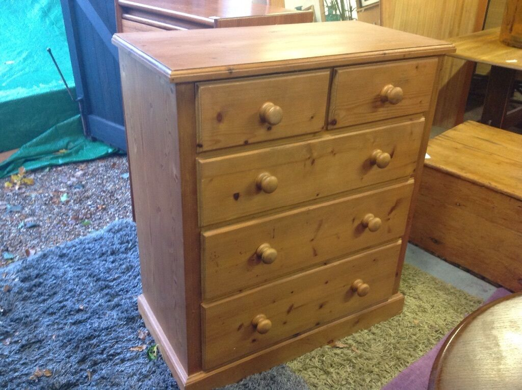 Solid pine top quality chest of draws in brighton east for Q furniture brighton co