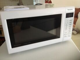 Panasonic combination microwave oven grill 1000w