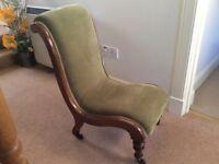 Victorian Antique nursing chair in excellent condition