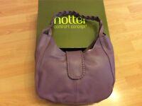 Leather handbag brand new boxed hotter