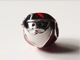 Genuine Father Christmas charm sterling silver S925