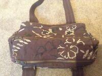 Fat face satchel bag