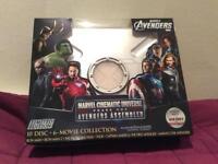 Marvel cinematic universe phase 1 Iron man, Hulk, Thor, Captain America, avengers infinity war