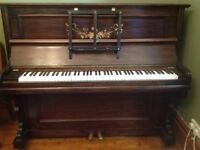 Free Upright piano, working but not in tune , bodywork in good condition