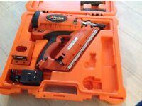 Paslode angled framing nail gun