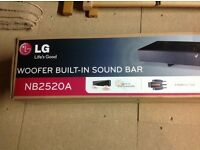 LG Soundbar, 2013 Which? Best Buy - provisionally sold