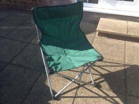 Fold up garden chair