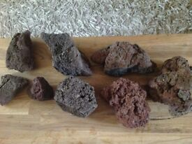 Lava Rocks for fish tank etc.