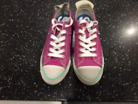 Superdry shoes trainers, size 5 like converse all stars