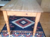Lovely vintage Small pine dining table