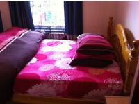 FURNISHED SINGLE ROOM WITH DOUBLE BED