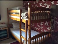 Pine bunk beds for sale