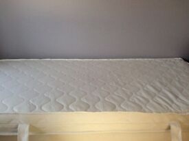 Nearly New Single foam Mattress with cover