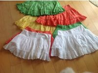 Brodiere anglaise skirts