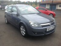 VAUXHALL ASTRA SXI 1.6 56 plate 89000 miles MOT ONE YEAR 5 door metallic grey free 30 day warranty