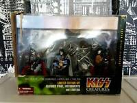 KISS creatures figures with stage and lights