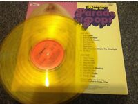 Limited collectors edition in gold vinyl parade of pops album
