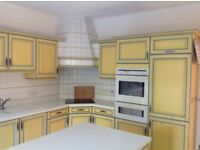 Used Kitchen unit , hob and sink for sales