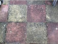 Concrete paving slabs approx. 50 square metres