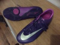Nike Mercurial Football Boots. Size 10. Brand New