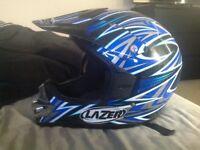 Motorbike helmet ( MEDIAM motocross helmet)