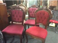 Various French style chair