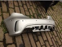2014 ONWARDS MERCEDES W176 A CLASS AMG A45 REAR BUMPER GENUINE