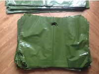 Approx. 340 High Quality Thick Plastic Carrier Bags-two sizes