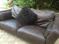 2 Quality Leather Sofa - Boraca Furniture in Marlow - Superior quality items * Delivery may be pos