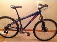 Raleigh hardtail mountain bike