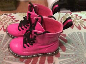 Girls Pink Boots