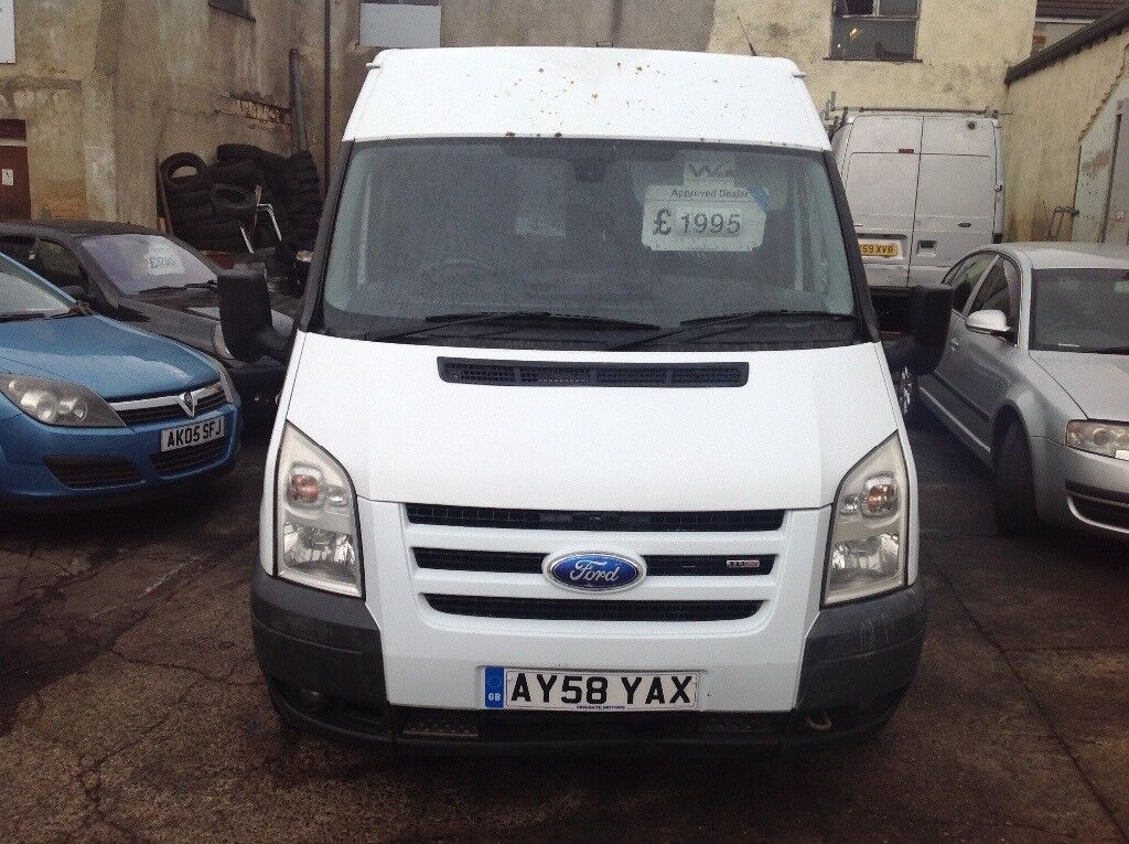 Ford transit 2.2 s/high trend