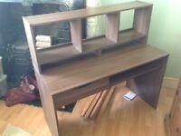 TV desk unit, plus work desk - excellent condition FREE!!
