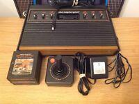 Atari 2600 Woody and 3 Games Combat, Air Sea Battle, Circus Atari
