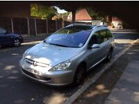 DIESEL 2005 Peugeot 307 with Long MOT, Service History, Starts First time, Ready to Drive