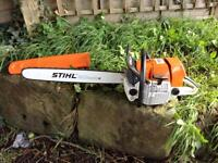 Stihl MS660 Chainsaw Very Clean New Bar, Chain, Cylinder and Piston MS 660 Chain Saw